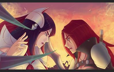 Irelia vs Katarina