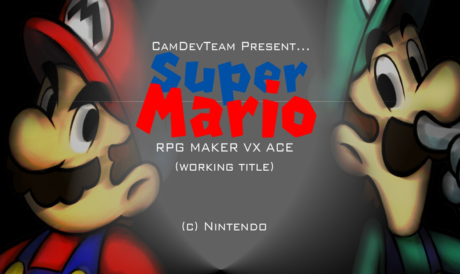 Super Mario Rpgvxa Working Title By O Camtroartist O On Deviantart