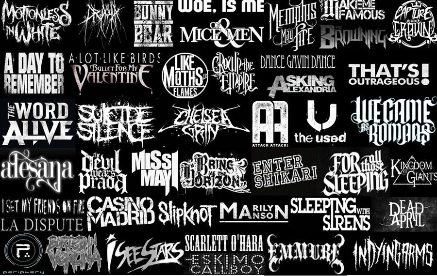 screamo bands wallpaper - photo #48