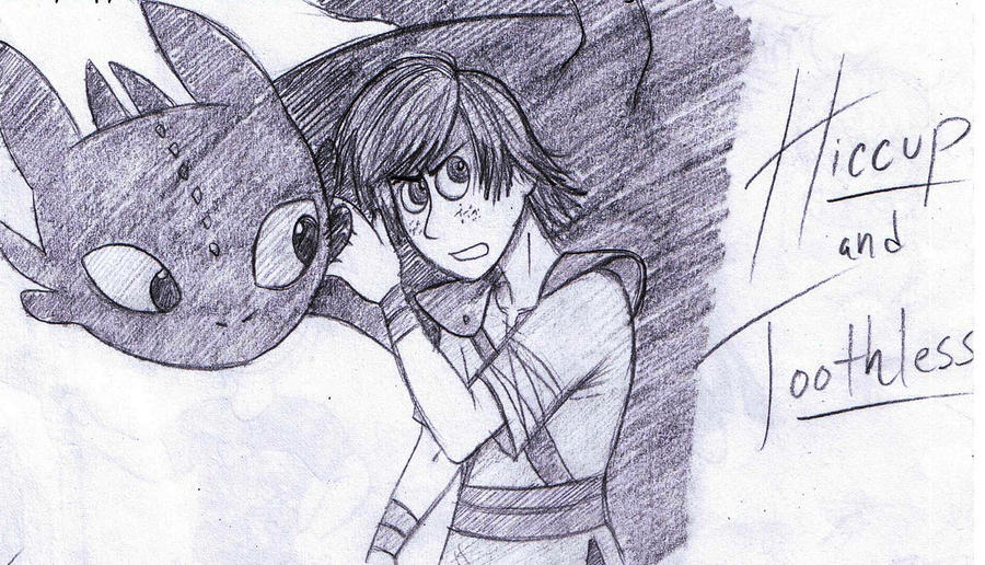 Hiccup and Toothless 2 by dreamer45