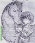 Hiccup and Horse Toothless