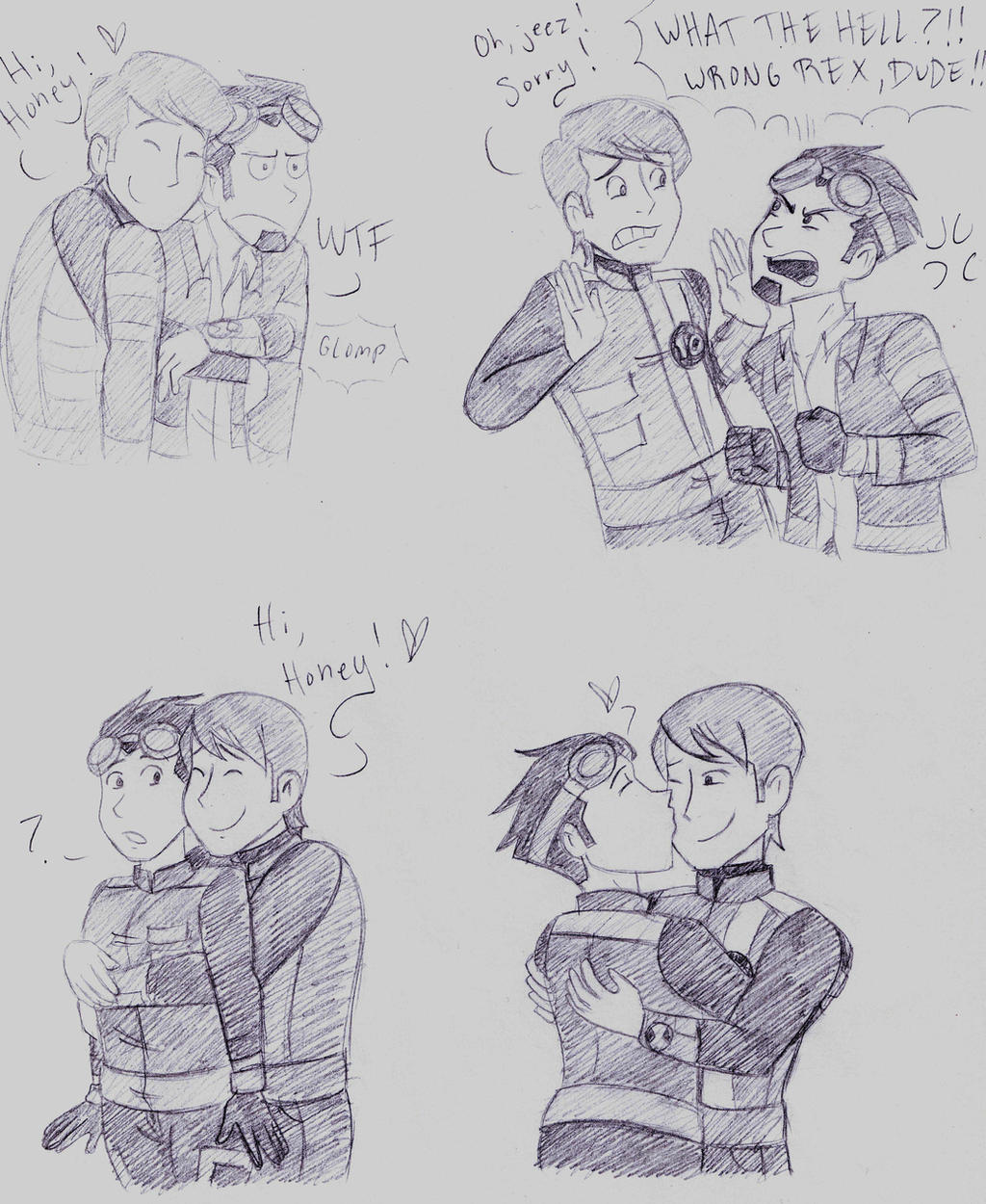 Wrong Rex, dude! by dreamer45