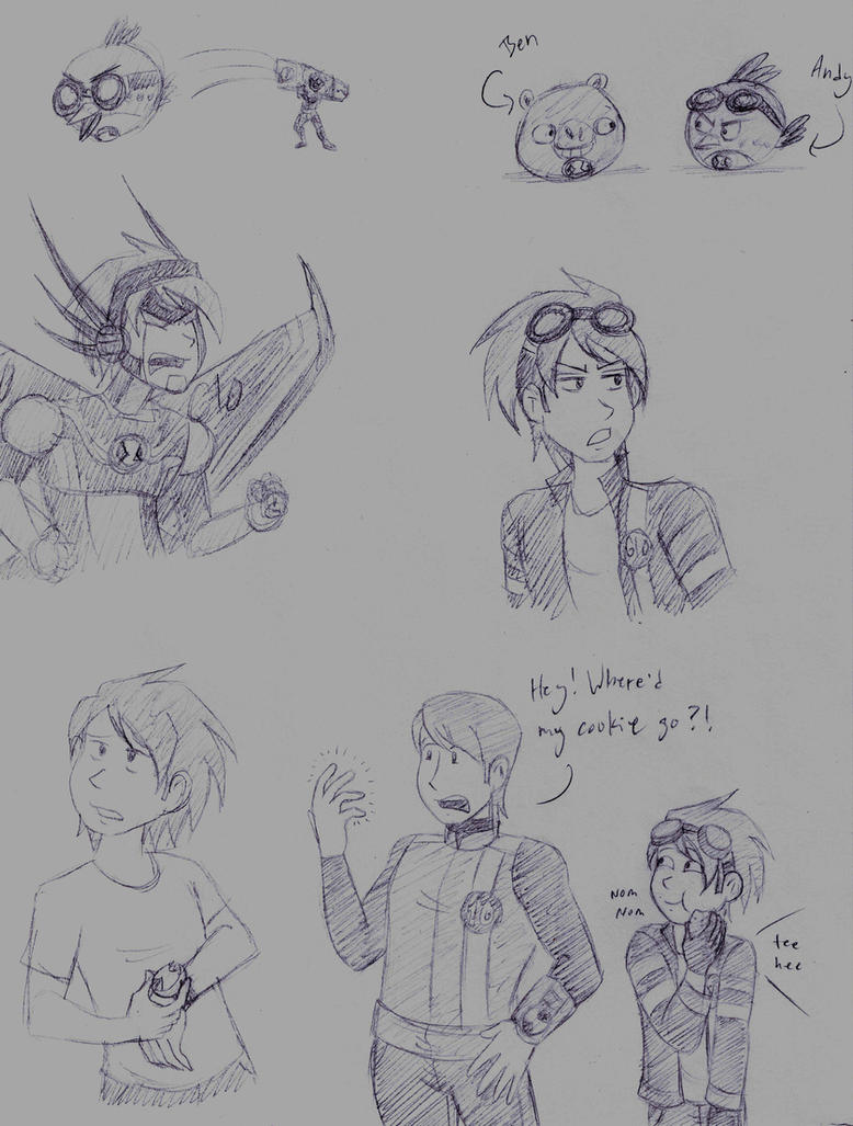 Andy doodles by dreamer45