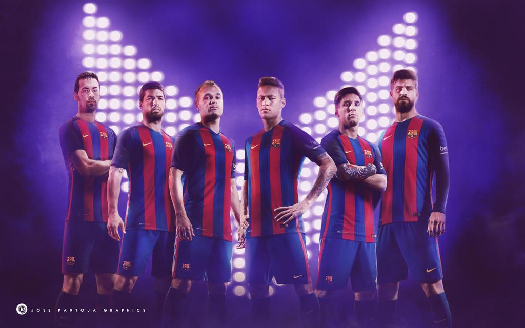 FC Barcelona 2016-2017 by WDANDM