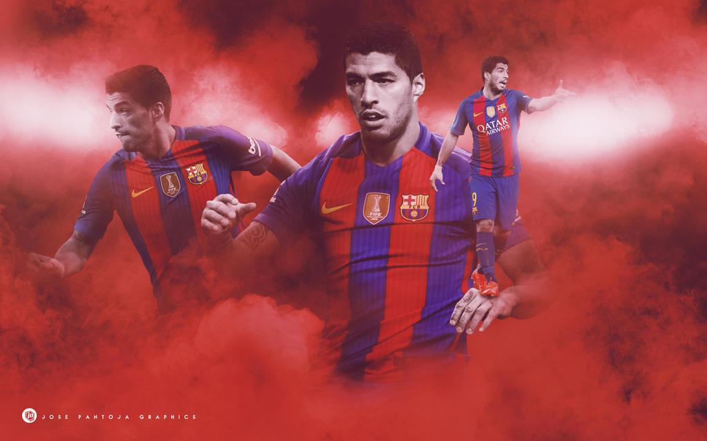 Luis Suarez 2016-2017 by WDANDM