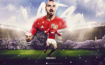 Zlatan Ibrahimovic by WDANDM