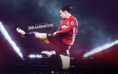 Zlatan Ibrahimovic 2017 by WDANDM