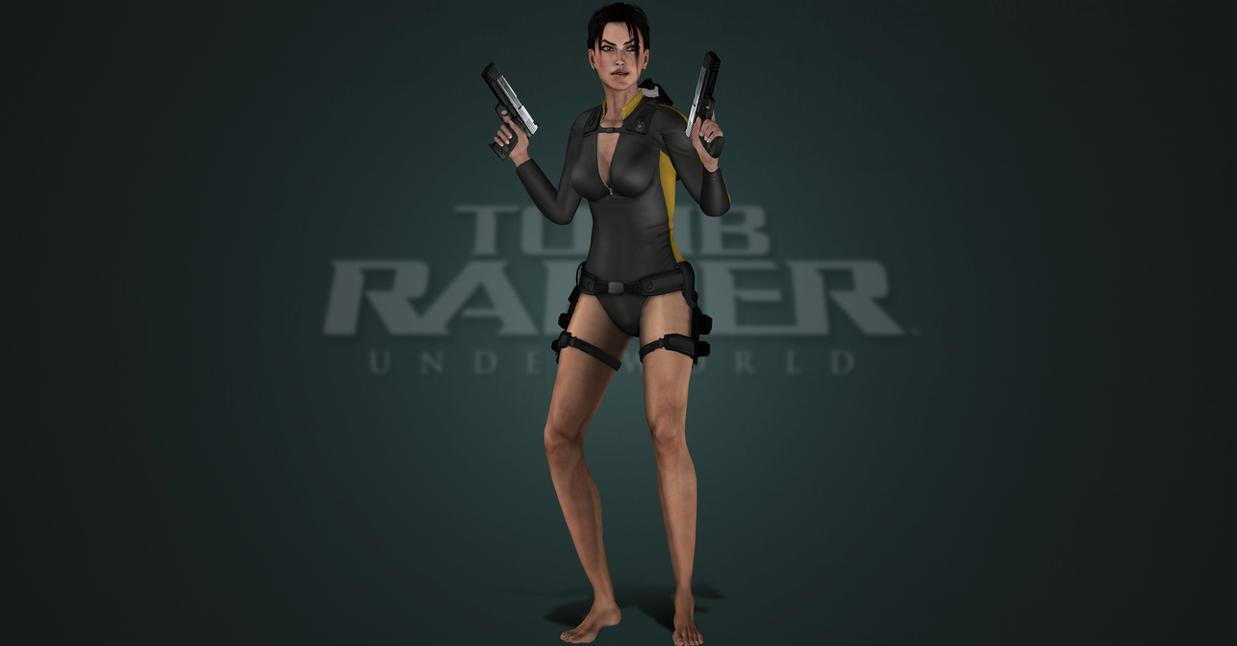 Tomb Raider Underworld Wetsuit by ArtiMuller