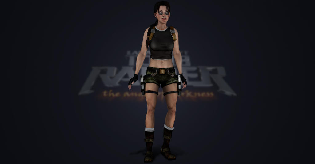 Tomb Raider The Angel of Darkness short outfit by ArtiMuller