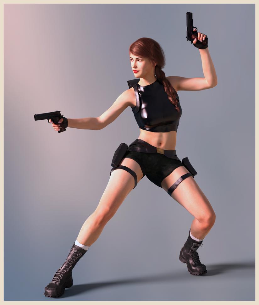 Tomb Rider Wallpaper: Tomb Raider Angel Of Darkness By ArtiMuller On DeviantArt