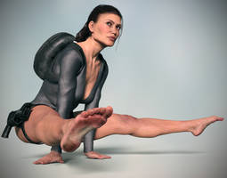 Tomb Raider wetsuit by ArtiMuller