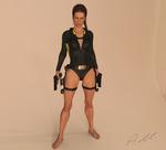 Tomb Raider Underworld wetsuit model