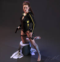 Tomb Raider Underworld wetsuit Lara 2 by ArtiMuller