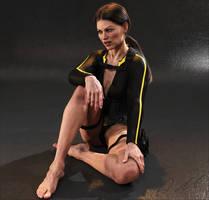 Tomb Raider Underworld wetsuit Lara 4