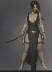 Tomb Raider Legend Tokyo dress (no toning)