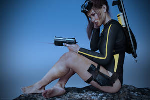 Tomb Raider Underworld wetsuit Lara by ArtiMuller