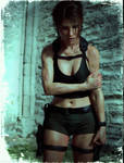 Tomb Raider Underworld (new model wounded version) by ArtiMuller