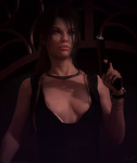 Tomb Raider Legend Tokyo dress by ArtiMuller