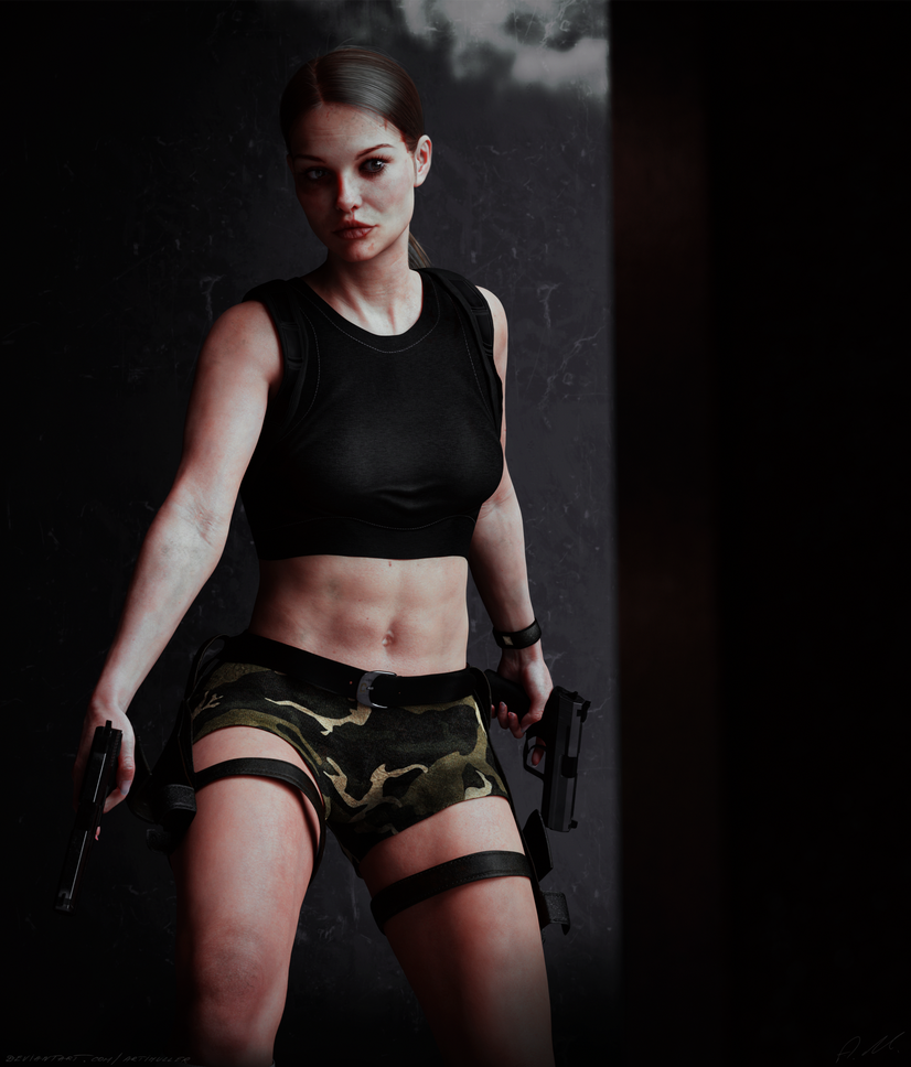 Tomb Raider The Angel of Darkness Lara V2(wounded) by ArtiMuller
