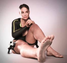 Tomb Raider Underworld wetsuit Lara