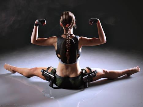 Lara workout day