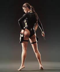 Tomb Raider wetsuit Lara