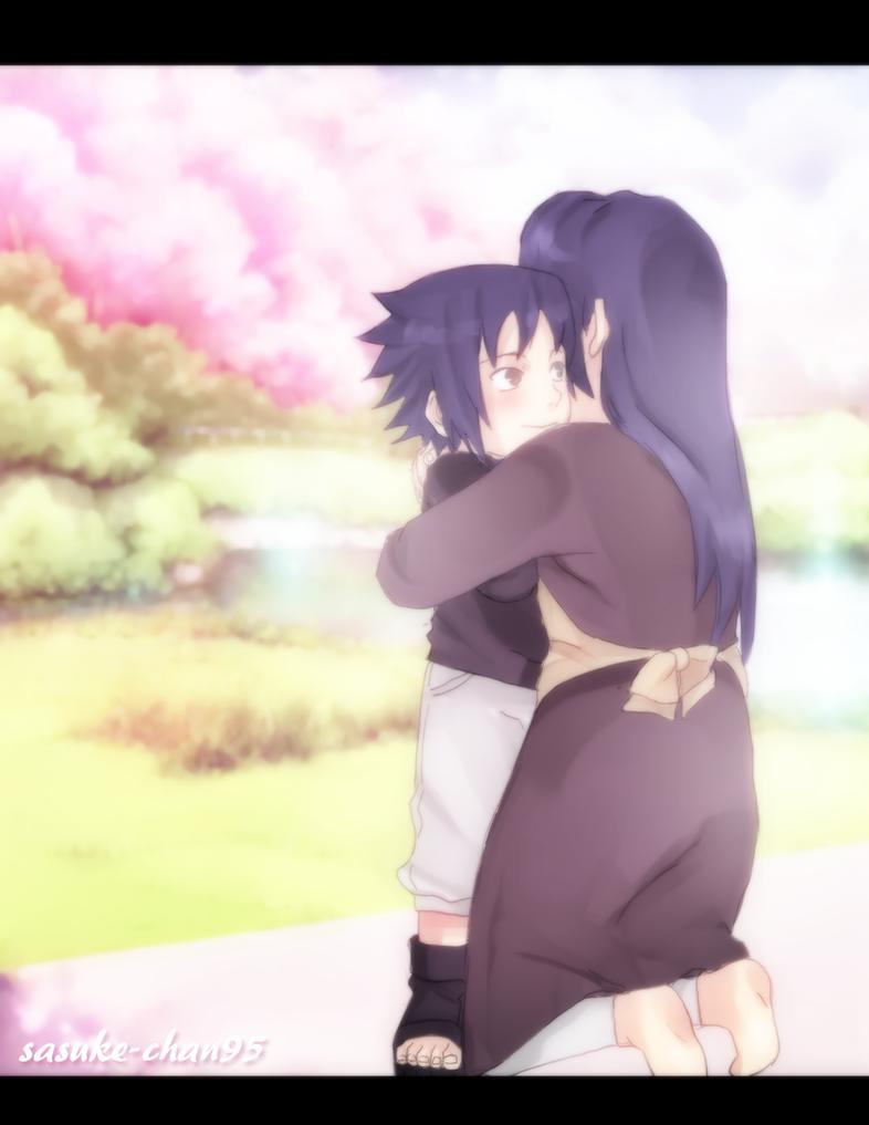 sasuke and mikoto by sasucchi95