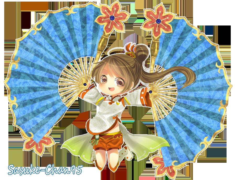 xiao qiao DW5 by sasuke-chan95