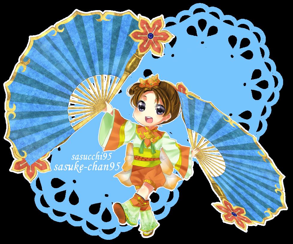 xiao qiao DW4 by sasuke-chan95