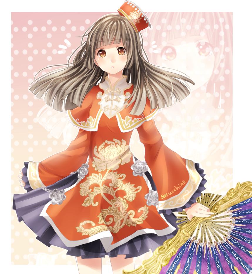 Da qiao by sasuke-chan95