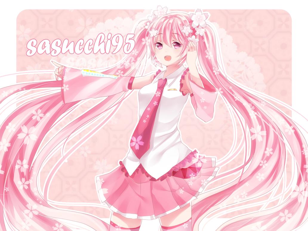 Sakura miku by sasuke-chan95