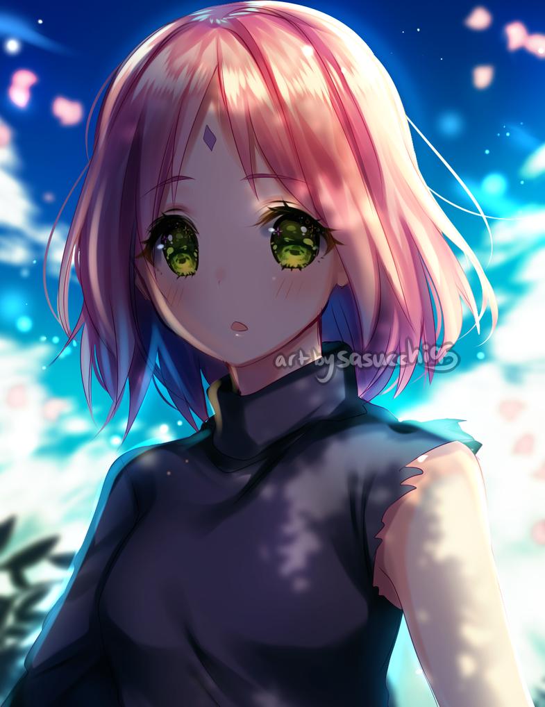 Sakura by sasucchi95