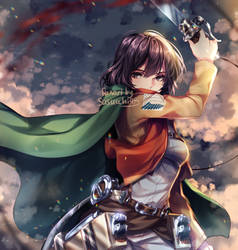 Mikasa by sasucchi95