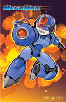 MegaMan 2012 by chapstyle