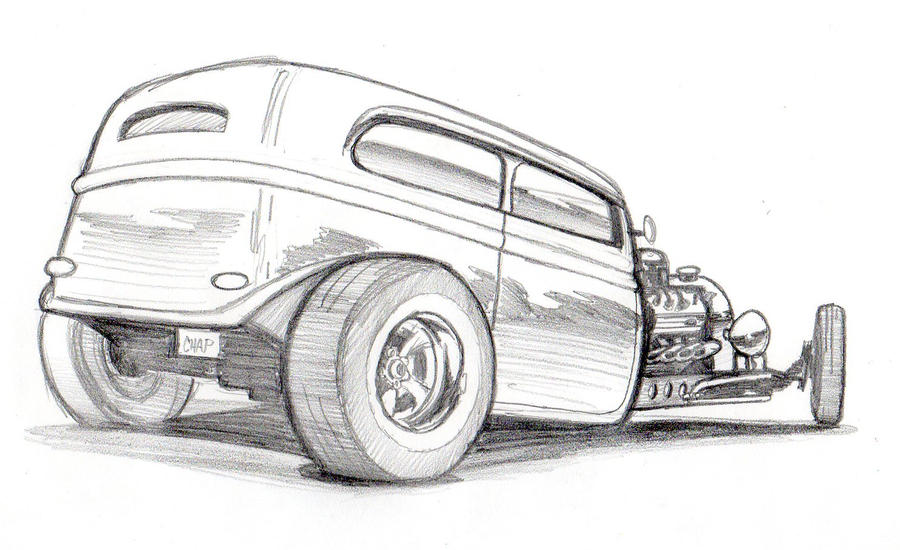 New Hot Rod Pencils By Chapstyle On Deviantart