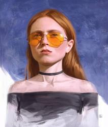 Girl portrait by MILMARI