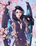 YCH: 9. Harpy Queen by MILMARI