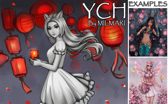 [Closed] YCH Auction: 35. Lanterns