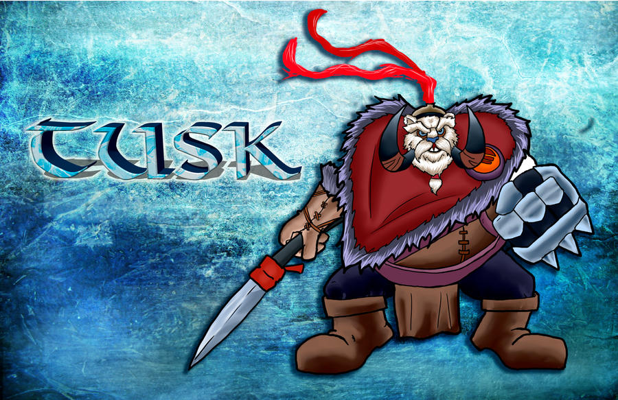 the frozen fang tusk dota 2 by thechainsawyer on deviantart