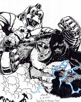 King Kong VS. Mechani Kong