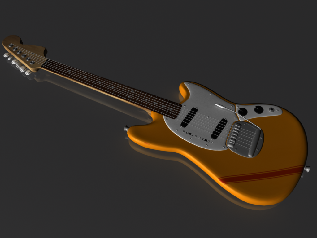 Fender Mustang Beck Mod Fender Mustang Beck By Matsumatsu