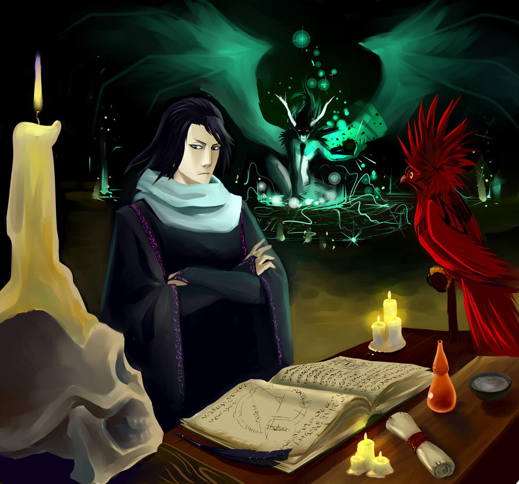 exorcist(Byakuya,Ulquiorra, Abaray) by ananovik