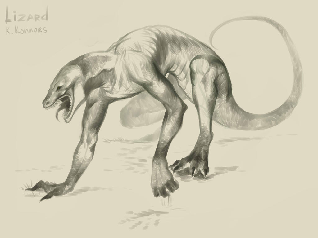Lizard: Konnors by ananovik