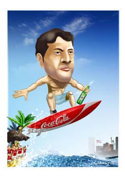 Torsten surfing cola