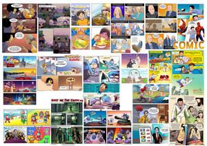 Comic Art 2012-2017 compilation