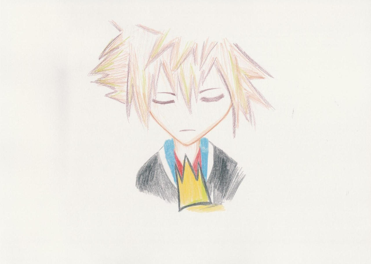 Namine's drawings: Slumber by Medi-EXE on deviantART