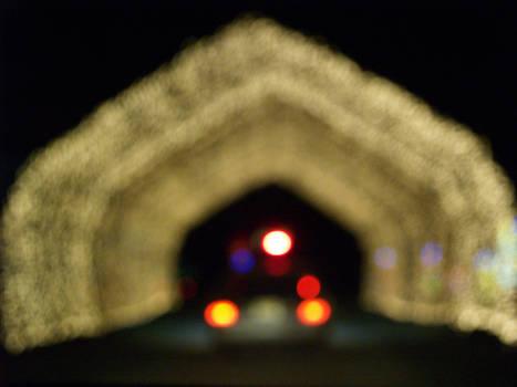 Light Tunnel Bokeh