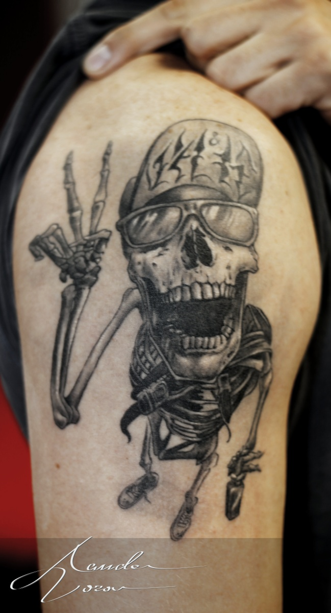 Mar-2015 / Skeleton healed by xandervoron