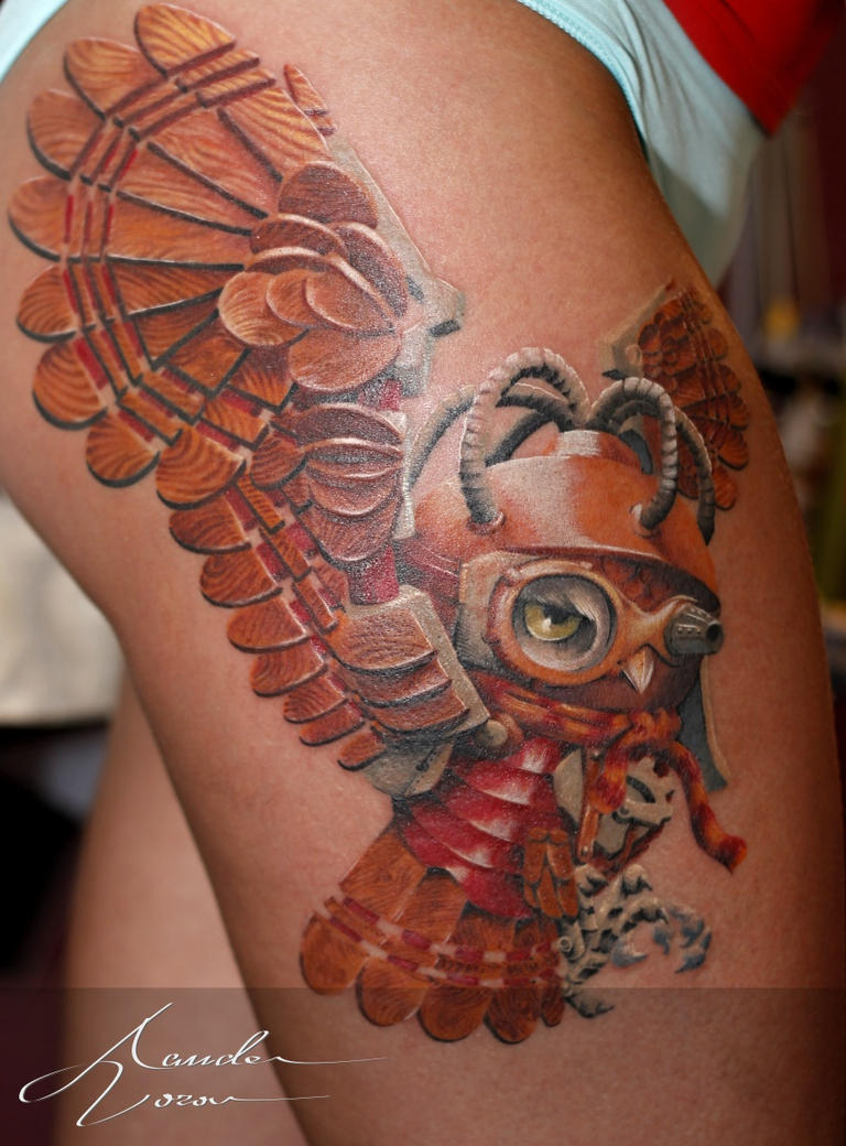May-2015 / Steampunk owl by xandervoron