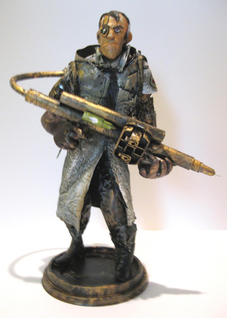 Steampunk Medic by Cinvira